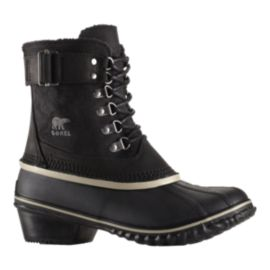 Sorel Women's Winter Fancy Lace Winter Boots - Black