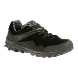 Merrell Men's Fraxion Waterproof Hiking Shoes - Black
