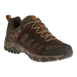 Merrell Men's Ridgepass Low Waterproof Hiking Shoes - Brown/Tan