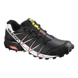 Salomon Men's SpeedCross Pro Trail Running Shoes - Black/White