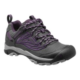 Keen Women's Saltzman Waterproof Hiking Shoes - Grey/Purple
