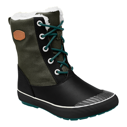 b3ebfab6eed Keen Women's Elsa Waterproof Winter Boots - Forest Night