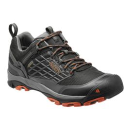 Keen Men's Saltzman Low Waterproof Hiking Shoes - Raven