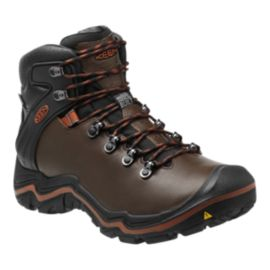 Keen Men's Liberty Ridge Waterproof Hiking Boots - Brown/Black
