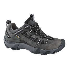 Keen Men's Alamosa Low Waterproof Hiking Shoes - Magnet/Gargoyle