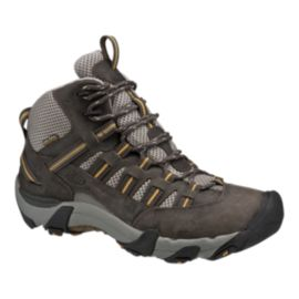 Keen Alamosa Mid Waterproof Men's Day Hiking Boots - Raven/Tawny Olive