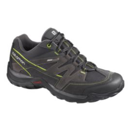 Salomon Men's Malaga ClimaShield Hiking Shoes - Black/Green