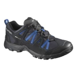 Salomon Men's Malaga ClimaShield Hiking Shoes - Black/Blue