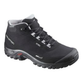 Salomon Men's Shelter ClimaShield Waterproof Winter Boots - Black/Grey