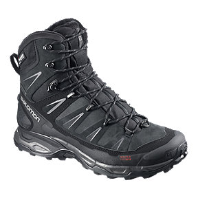 Salomon Men's X Ultra Winter ClimaShield Waterproof Winter Boots - Black/Auto