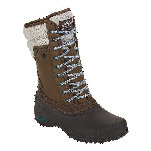 3ff30b98d The North Face Women's Shellista II Mid Winter Boots - Brown/Blue