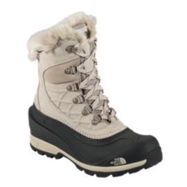 The North Face Women's Chilkat 400 Winter Boots - Tan