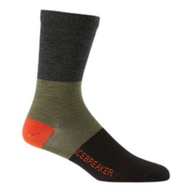 Icebreaker Men's Lifestyle Rugby Stripe Crew Socks