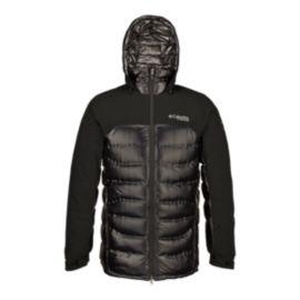 Columbia TurboDown™ Titanium Heatzone 1000 Men's Hooded Jacket - Black