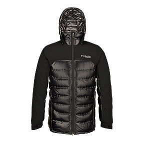 Columbia Men's TurboDown&trade&#x3b; Titanium Heatzone 1000 Hooded Jacket - Black