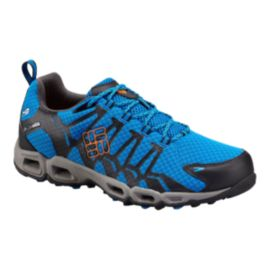 Columbia Men's Ventrailia OutDry Hiking Shoes - Blue/Black