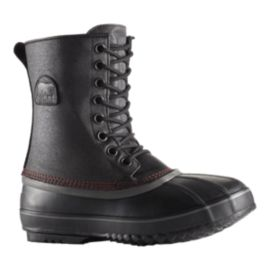 Sorel Men's 1964 Premium T Canvas Winter Boots - Black/Sail Red