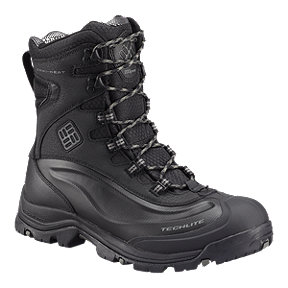 Columbia Men's Bugaboot Plus III WP Omni-Heat Winter Boots - Black/Charcoal