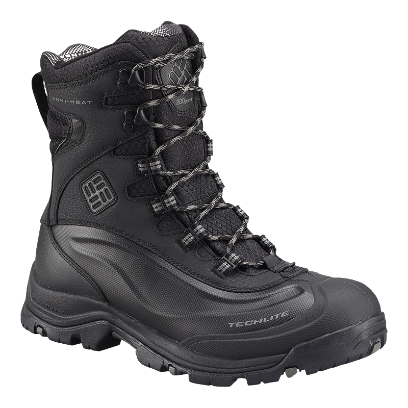 f61731357e4 Columbia Men's Bugaboot Plus III WP Omni-Heat Winter Boots - Black/Charcoal
