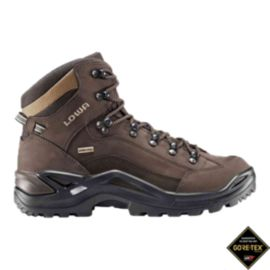 Lowa Men's Renegade Mid GTX Wide Hiking Boots - Espresso/Brown