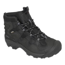 Keen Men's Growler Winter Boots - Black/Gargoyle