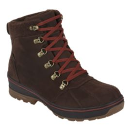 The North Face Men's Ballard Duck Boot Winter Boots - Brown/Red
