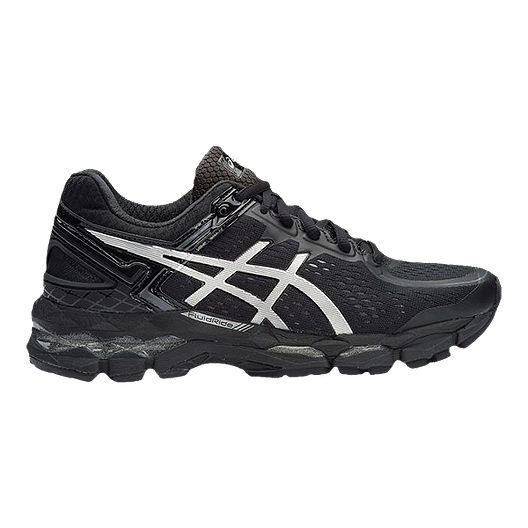 official photos a8528 ae162 ASICS Women's GEL Kayano 22 Running Shoes - Black/Silver