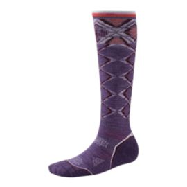 Smartwool Women's PhD Ski Light Pattern Ski Socks