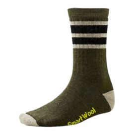 Smartwool Men's Striped Hiking Medium Crew Socks