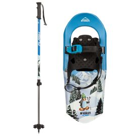 McKINLEY Junior Flash 17 inch Snowshoe Kit - Blue