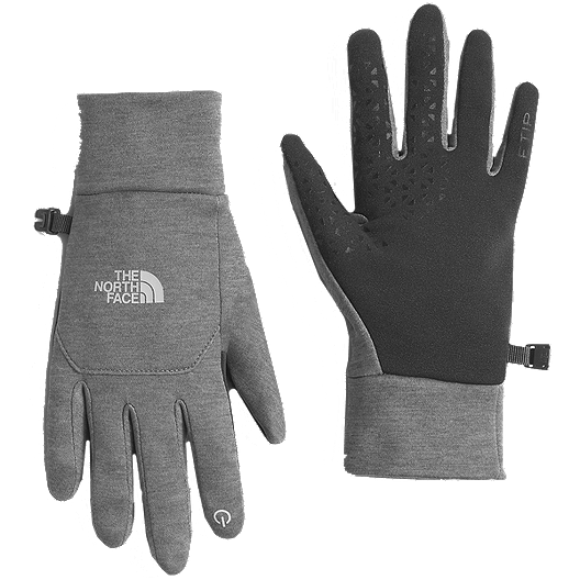 e6a84a3558 The North Face Women's Etip Gloves - Grey | Atmosphere.ca