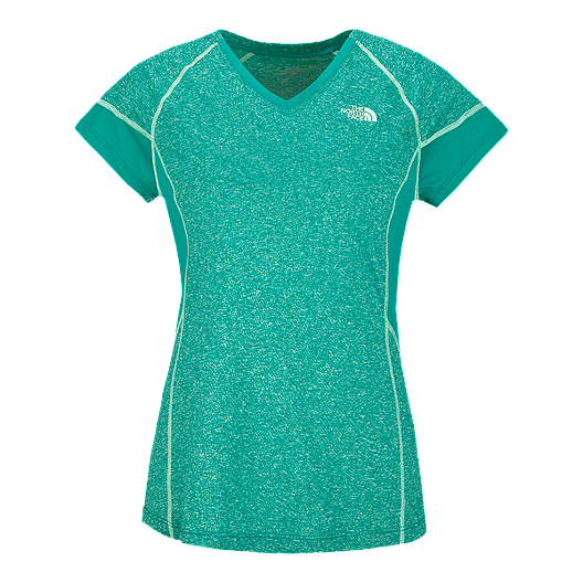 57a602335 The North Face Women's Reactor V-Neck Short Sleeve Tee | Atmosphere.ca