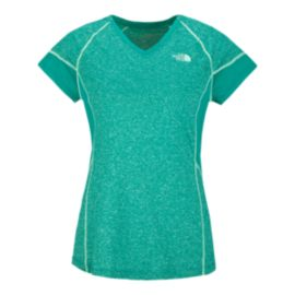The North Face Women's Reactor V-Neck Short Sleeve Tee