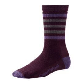 Smartwool Women's Striped Hiking Medium Crew Socks