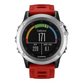 Garmin fenix 3 GPS Watch - Silver