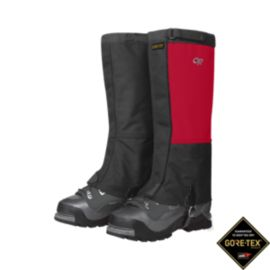Outdoor Research Expedition Crocodile Gaiters - Red