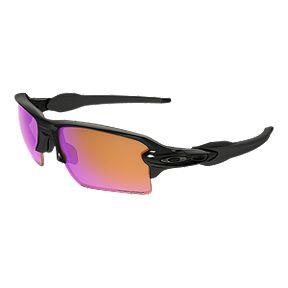 c71763f682 Oakley Flak 2.0 XL Sunglasses - Polished Black with Prizm Trail Lenses