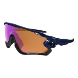 Oakley Jawbreaker Prizm Trail Sunglasses - Polished Navy / Prizm Trail