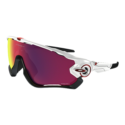 2b2eb4b5cc1 Oakley Jawbreaker Prizm Road Sunglasses - Polished White with Prizm Road