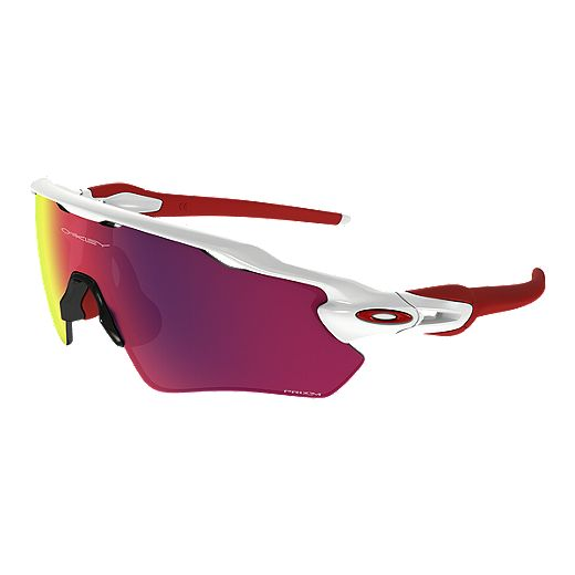 Oakley Radar EV Path Prizm Road Sunglasses - Polished White / Prizm Road