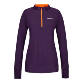 Craft Light Wool Women's ½ Zip Top