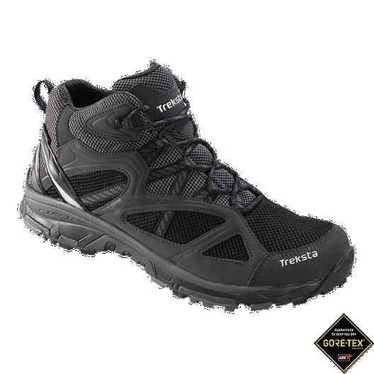 06e6bddbb59 Treksta Men's Evolution 161 Mid GTX Day Hiking Boots - Black/Grey ...
