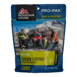 Mountain House Chicken Teriyaki with Rice Pro-Pack