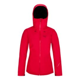 Arc'teryx Women's Lillooet Gore-Tex Down Insulated Jacket - Flamenco Red