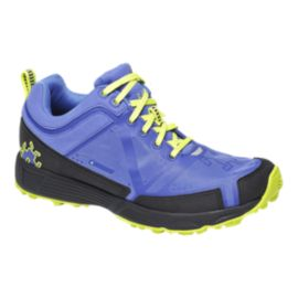 Icebug Women's DTS2 BUGrip Trail Running Shoes - Purple/Black/Yellow