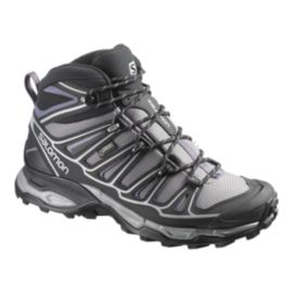 Salomon X Ultra Mid 2 GTX Women's Day Hiking Boots - Grey/Black
