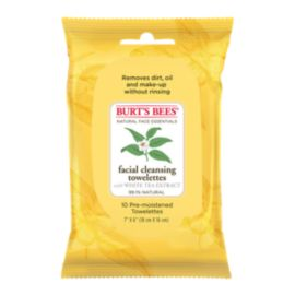 Burt's Bees Facial Cleansing Towelettes - 10 Pack