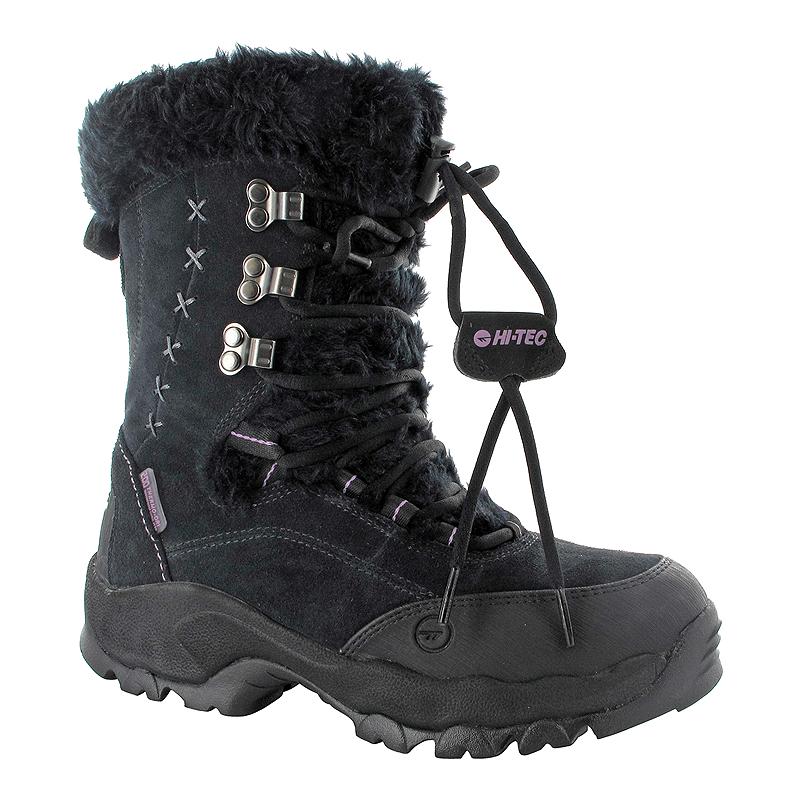 60ffd3dc7b1 Hi-Tec Women's St. Moritz 200 Waterproof II Winter Boots - Black