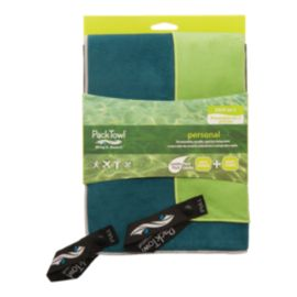 PackTowl Personal Face & Body Towel Set - Citrus/Indigo
