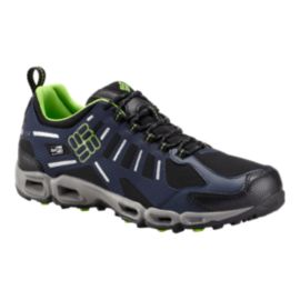 Columbia Men's Vent Freak OutDry Hiking Shoes - Black/Green Mamba
